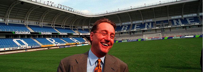 NY STADION I 1998: �tte �r etter at Kjell Inge R�kke finansierte Molde stadion oppkalles arenaen etter finansmannens selskap.