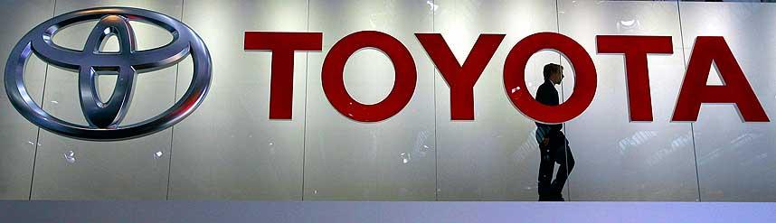 SAKSØKT: Toyota er saksøkt av ansatt for 1,2 milliarder kroner.