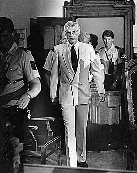 ETTER SPIONDOMMEN: Arne Treholt i 1985. Han fikk 20 års fengsel.