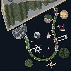 PLUG&PLAY: Alt flyter på betongelementer, og innholdet kan velges fra en «tapas-meny».