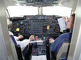 SLÅTT UT: Braathens-kaptein Niels Gomer ble slått ut av giftgasser under flygning 1999, og bare flaks gjorde at ikke flyet havarerte med 73 mennesker om bord.