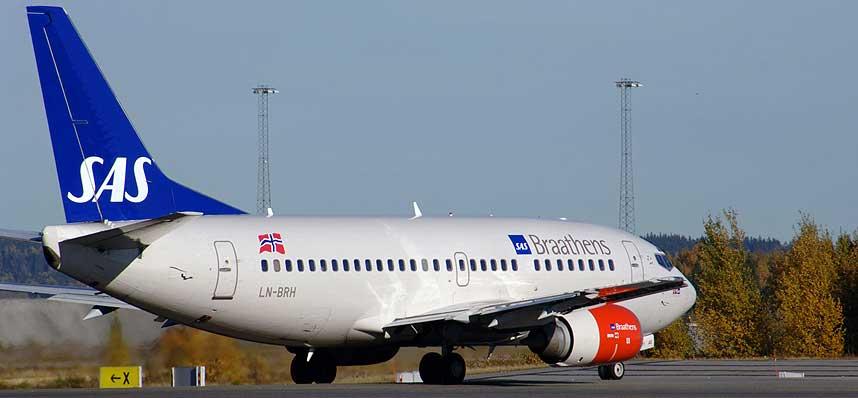 BOEING 737: Denne flytypen er blant maskinene som er mest utsatt for giftgasser i kabin og cockpit.