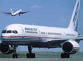 BOEING 757: Denne flytypen er sammen med BAe 146 aller mest utsatt for giftgasshendelser.