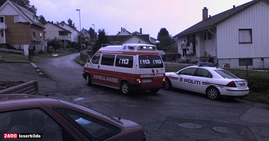 DREPT OG PÅGREPET:  Det er i dette boligområdet i Moi sentrum i Lund i Rogaland at en kvinne ble skutt og drept og en mann pågrepet i dag.