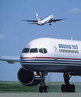 BOEING 757: Denne flytypen er svært utsatt for giftige gasser i kabin og cockpit.