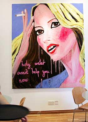 STELLA VINE: Portrett av Kate Moss etter kokainhistorien modellen var innblandet i.