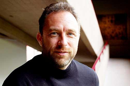BLE SENSURERT:  Jimmy Wales, som er en av Wikipedias grunnleggere, ble selv sensurert da han opprettet en artikkel om en Nobelprisvinner.