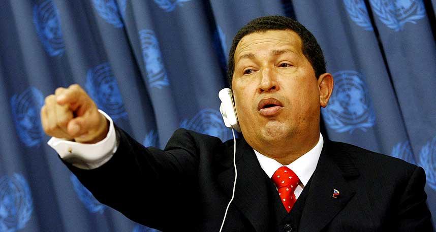 TIL NORGE? Den populistiske venezuelanske presidenten Hugo Chavez har sin helt egen pr-strategi. Om et uoffisielt bes�k til Norge inng�r i hans planer gjenst�r � se.