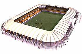FERDIG I MARS: Stadionet skal bli ferdig til seriestart neste �r.