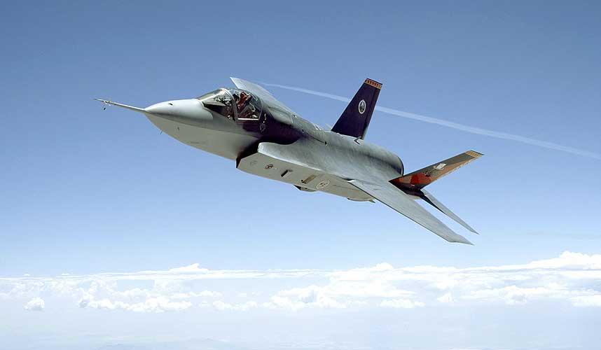 TREIGERE ENN NYE RUSSISKE FLY: Joint Strike Fighter synes ikke p� radar, men har lavere makshastighet enn mange av konkurrentene.