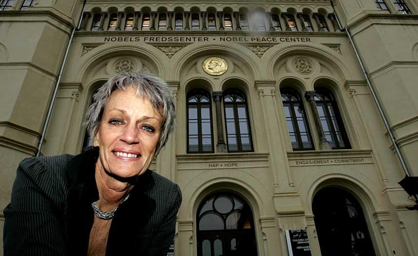 MEKTIG: Bente Erichsen blir ny styreleder i Amnesty International Norge.