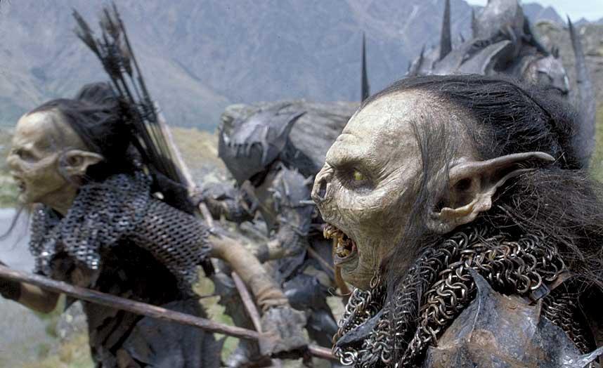 M�KKAPRAT: Orkene har ikke verdens vakreste m�l i nynorskversjonen av �Ringenes herre�, �Ringdrotten�.