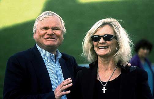 John Fredriksen with Wife Astrup Fredriksen