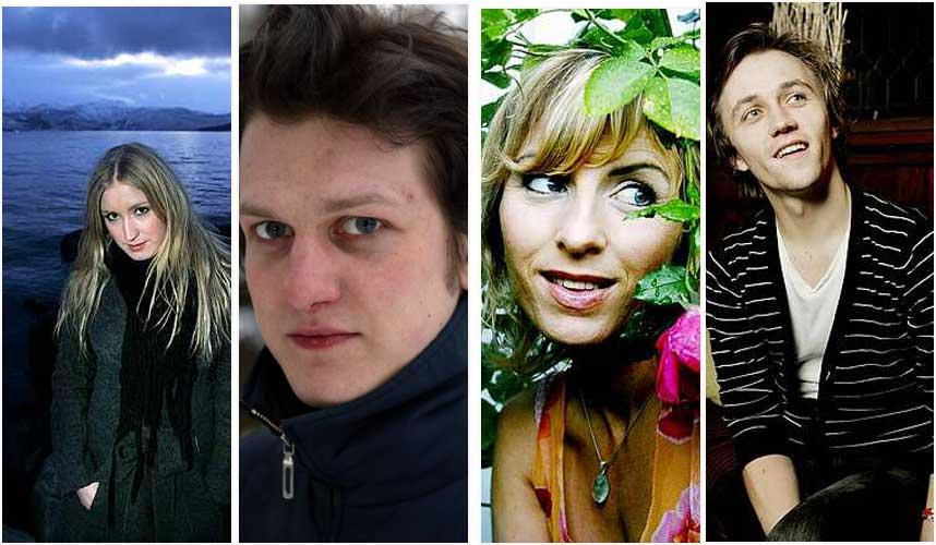 NY MUSIKK: Christel Alsos, Geir Zahl, Silje Nergaard og Sondre Lerche slipper alle plater i januar/februar.