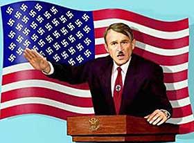 GODWIN'S LOV: Jo lengre en debattråd blir, jo større er sjansen for at noen skal komme trekkende med en Hitler- eller nazi-parallell.