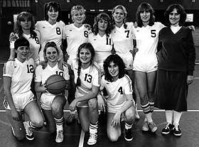 Basketstjerne:  -  Min f�rste rolle, i en serie p� svensk tv. 14 �r, med nummer 7. Nummer 10 er Helena Bergstr�m, kjent fra �nglag�rd.
