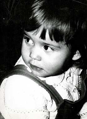 1960: Ingrid, ett �r gammel.
