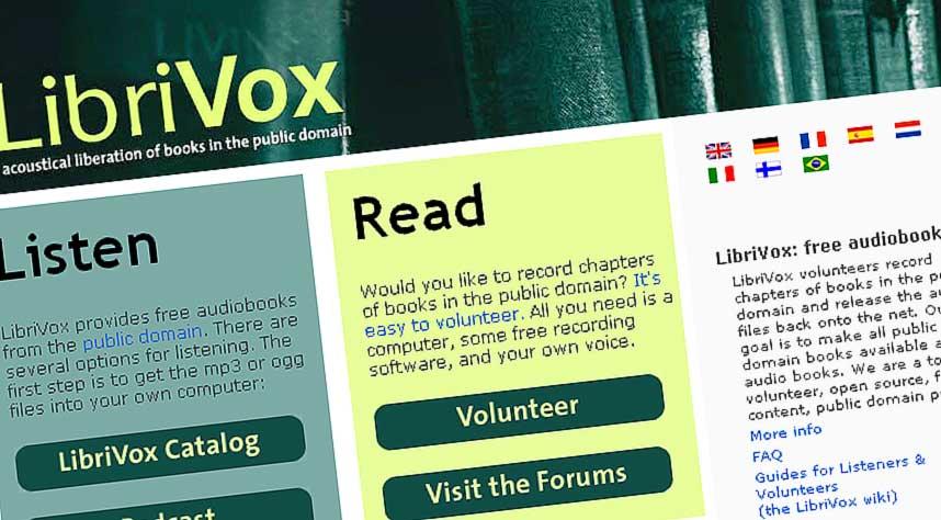 GRATIS LYDB�KER: Det amerikanske nettstedet LibriVox tilbyr gratis nedlastning av lydb�ker, helt lovlig.