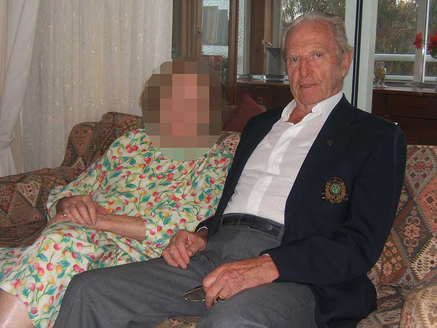 ANGRER IKKE: Fredrik Jensen var med i Waffen SS under andre verdenskrig.