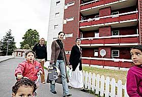 MORTENSRUD 2004: De marrokanske kvinnene Fatima, Touria og Aicha lot seg intervjue av Dagbladet.