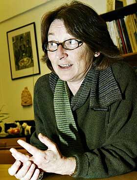FORNØYD: Generalsekretær i Human-etisk forbund, Kristin Mile.
