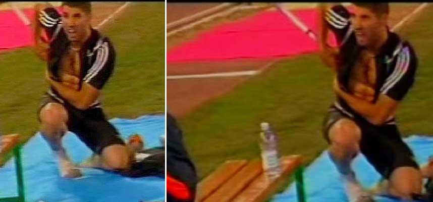 Pitkamaki spears Sdiri in Rome javelin accident Fri 13th