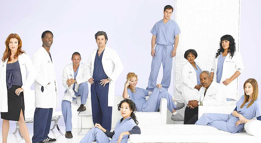 LASTES NED: Grey's Anatomy