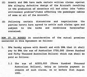 BETALTE MILLIONER: Flyfabrikant British Aerospace inngikk forlik med to australske flyselskap som ville sakssøke dem for giftgasser i BAe 146-flyene.