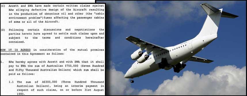HEMMELIGHOLD: British Aerospace har holdt hemmelig at australske flyselskap ville saksøke dem på grunn av giftige gasser i flyene av typen BAe 146.