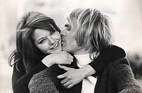 LYKKELIGE: Fred fant kj�rligheten i Italia. Han giftet seg med den vakre filmdivaen Agostina Belli. - Etter 15 �r trodde jeg at det var noe mer. Men nei.