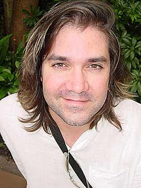 SVARTE DEG: Spillmusikk-komponist Jason Hayes.