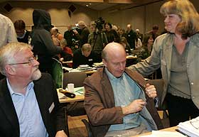 TAPTE: Oslo-biskop Ole Christian Kvarme har v�rt en av de ivrigste motstanderne mot homofile prester.