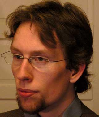 IT-MANN: Forfatteren av debattinnlegget, Daniel S�land Jackson, sitter i partiet R�dts IT-utvalg og har v�rt aktiv i R�d Ungdom i en �rrekke. Han jobber til daglig i Opera Software.