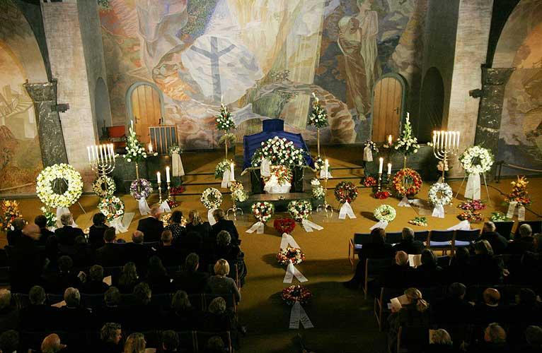 Trond Kirkvaag begravelse