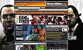 TUNG REKLAME: Eidos gikk tungt inn med annonsepenger hos GameSpot for spillet �Kane & Lynch�.