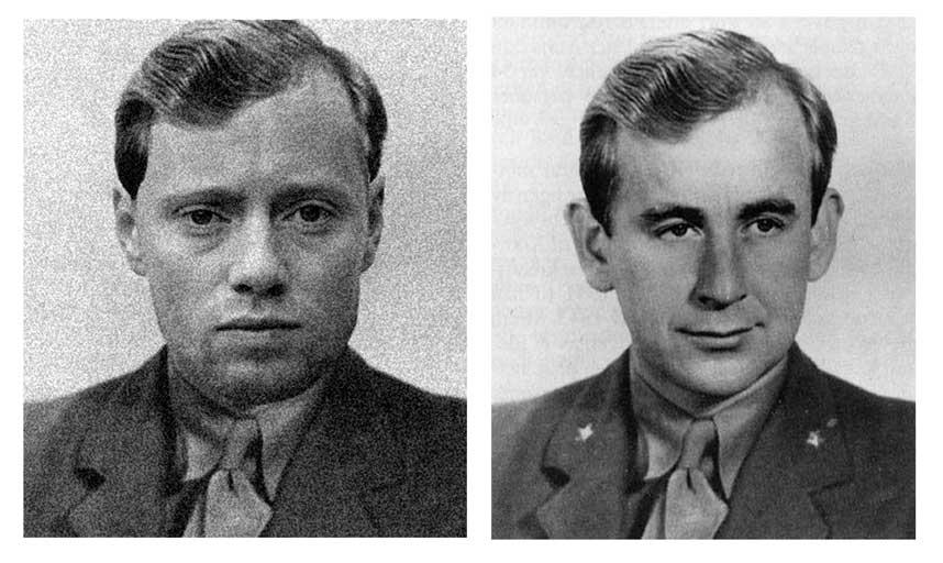 SPILLER KRIGSHELT: Axel Hennie (til venstre) som Max Manus (1914-1996), den norske motstandsmannen som blant annet var l�ytnant i Kompani Linge.Foto: SCANPIX