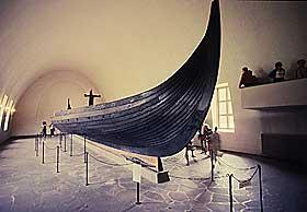 OTTARS FART�Y: Bildet viser Gokstadskipet, som historikerne mener ligner skipet Ottar brukte p� sin reise fra Norge til England.