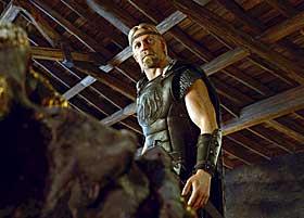 VIKING ANNO 2007: Slik forestiller filmskaperne bak �Beowulf� at en viking s� ut. Filmen er basert p� det gammelengelske diktet Beowulf.