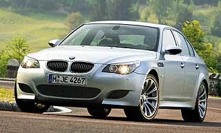 FARTSMONSTER: BMW M5 har 570 hestekrefter og går fra 0 til 100 km/t på 4,7 sekunder.