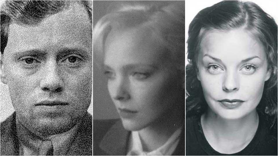 SPILLER I FILMEN: Aksel Hennie som Max Manus, Victoria Winge som Solveig Johnsrud og Agnes Kittelsen som Tikken Manus. Bildene er gitt bevisst 40-tallspreg.