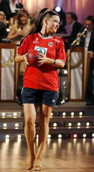 SVINGTE SEG PÅ PARKETTEN: Susann inntok en ny arena da hun ble med på TV 2s «Skal vi danse?». Hun gjorde en god figur og endte på 2. plass i konkurransen.