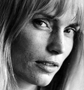 Margrete Robsahm som ung skuespiller.