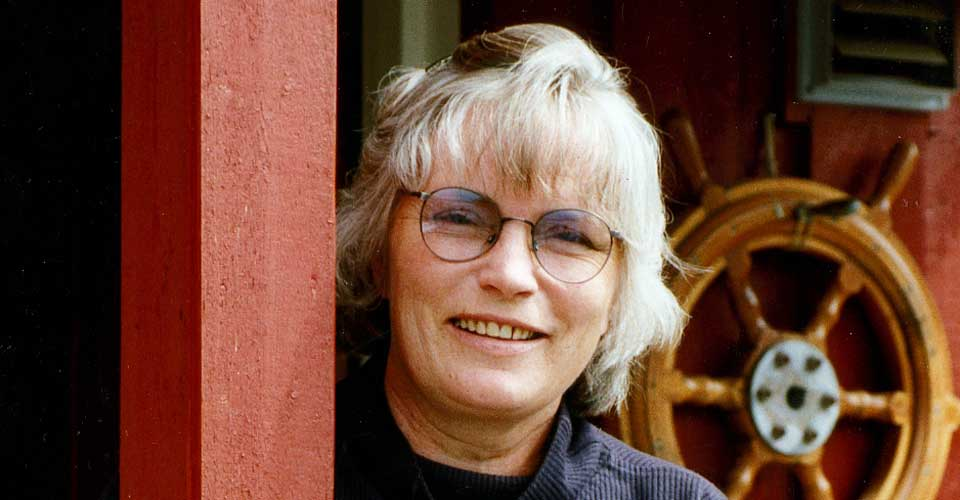 Margrete Robsam har kun regissert én film, «Begynnelsen på en historie», fra 1988.Bildet er fra 1993.