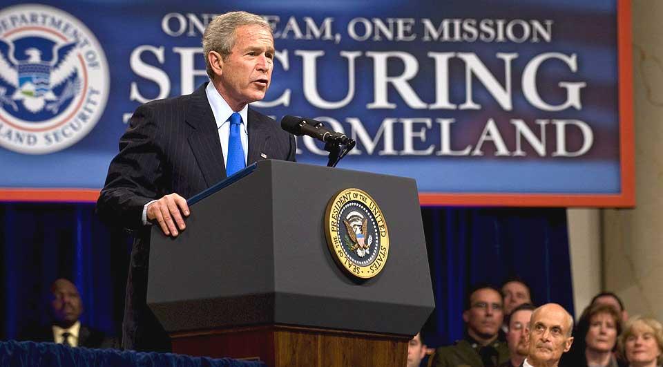 VETO BLIR STÅENDE: Demokratene i Kongressen klarte ikke å oppnå det flertallet de trengte for å sette til side president George W. Bush sitt veto mot torturforbud.