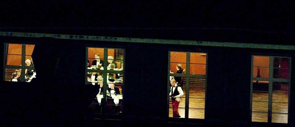Eksklusivt: Rederiforbundets festsal i R�dhusgata i Oslo er rammen n�r medlemmene i Norsk Anchorite Klubb m�tes til sine eksklusive middagsselskaper.