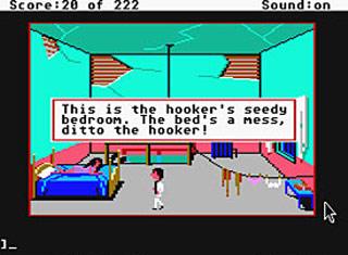 IKKE-GRAFISK: Også i eldre spill, som «Leisure Suit Larry in the Land of Lounge Lizards», fantes det sex - bare ikke like grafisk som i noen av dagens spill.