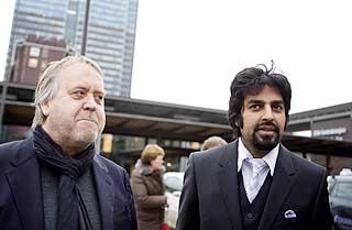 Zahid Ali ble nektet inngang, s� han stakk p� kino med kompisen Tor Milde i stedet for.