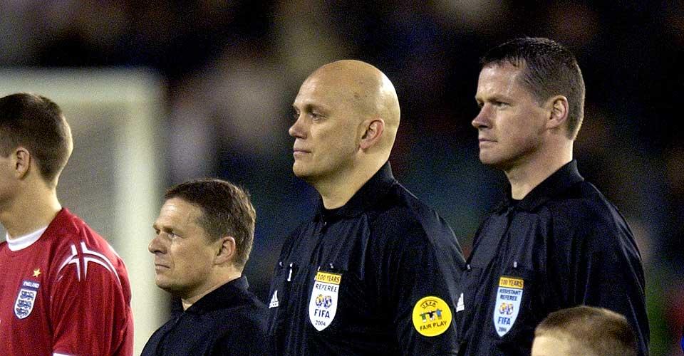 KLARTE IKKE KRAVET: Erik R�stad (t.h.) klarte ikke Uefas hurtighetstest, og blir vraket som Tom Henning �vreb�s assistent under sommerens fotball-EM.
