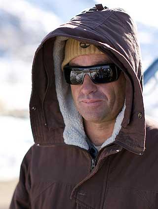 SPILTE KONSERT: Tre ganger verdensmester Tom Cullen er både musiker og surfer og hadde med hele bandet sitt til Lofoten.