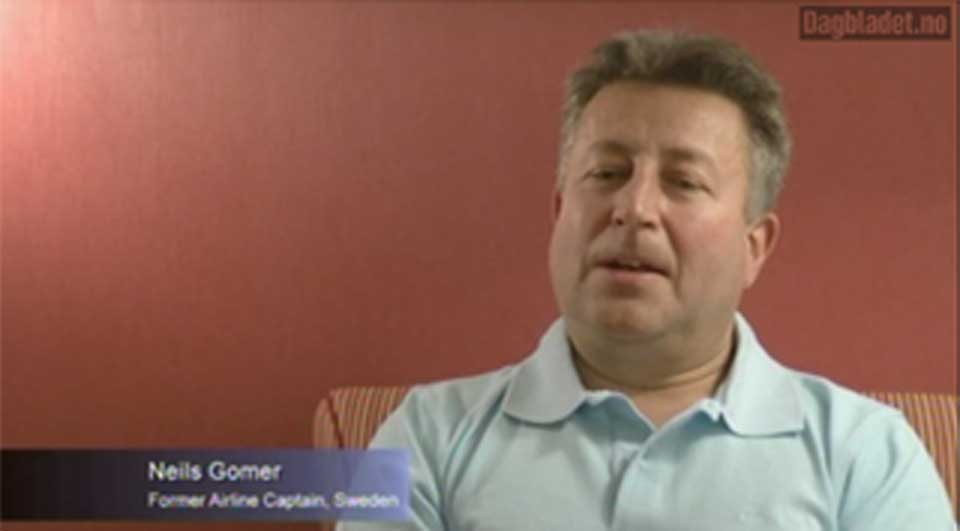 SLÅTT UT: Kaptein Niels Gomer var nær ved å styrte i BAe 146-flyet med 73 personer om bord.